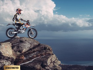 KTM Freeride E-SX and Vanni Oddera from TGIF-CREATIVE