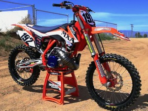 2015 KTM 250 SX 2 stroke project bike