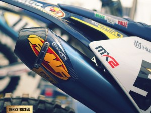 Husqvarna FC250 New generation at Arco Di Trento MXGP