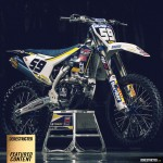 New Husqvarna FC 250 Factory Race Bike