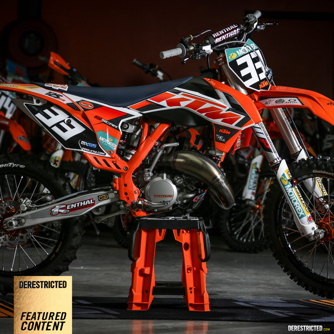 ktm motocross junior team shoot 2015 derestricted