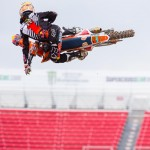 2015 Las Vegas Supercross Racing Highlights
