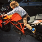 Not yet my boy, not yet! 🙈#Ktm #superduke