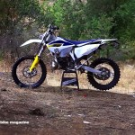 2015 Husqvarna TE 300 2 Stroke with Mike Brown