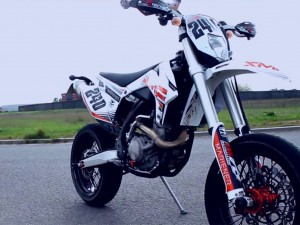 KTM RC390 & KTM EXC500 Hooligan Time! Sportbike & Supermoto fun