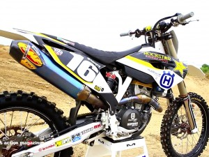 Motocross Action tests Zach Osborne's Factory Rockstar racing Husqvarna FC250
