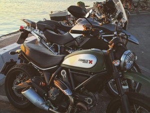 What do you think of the new #ducati scrambler? I wouldn't mind trying one at all.
