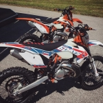 6 days or stock? 2016 #KTM #EXC 's #enduro #de_portfolio  @ktmsalzburg