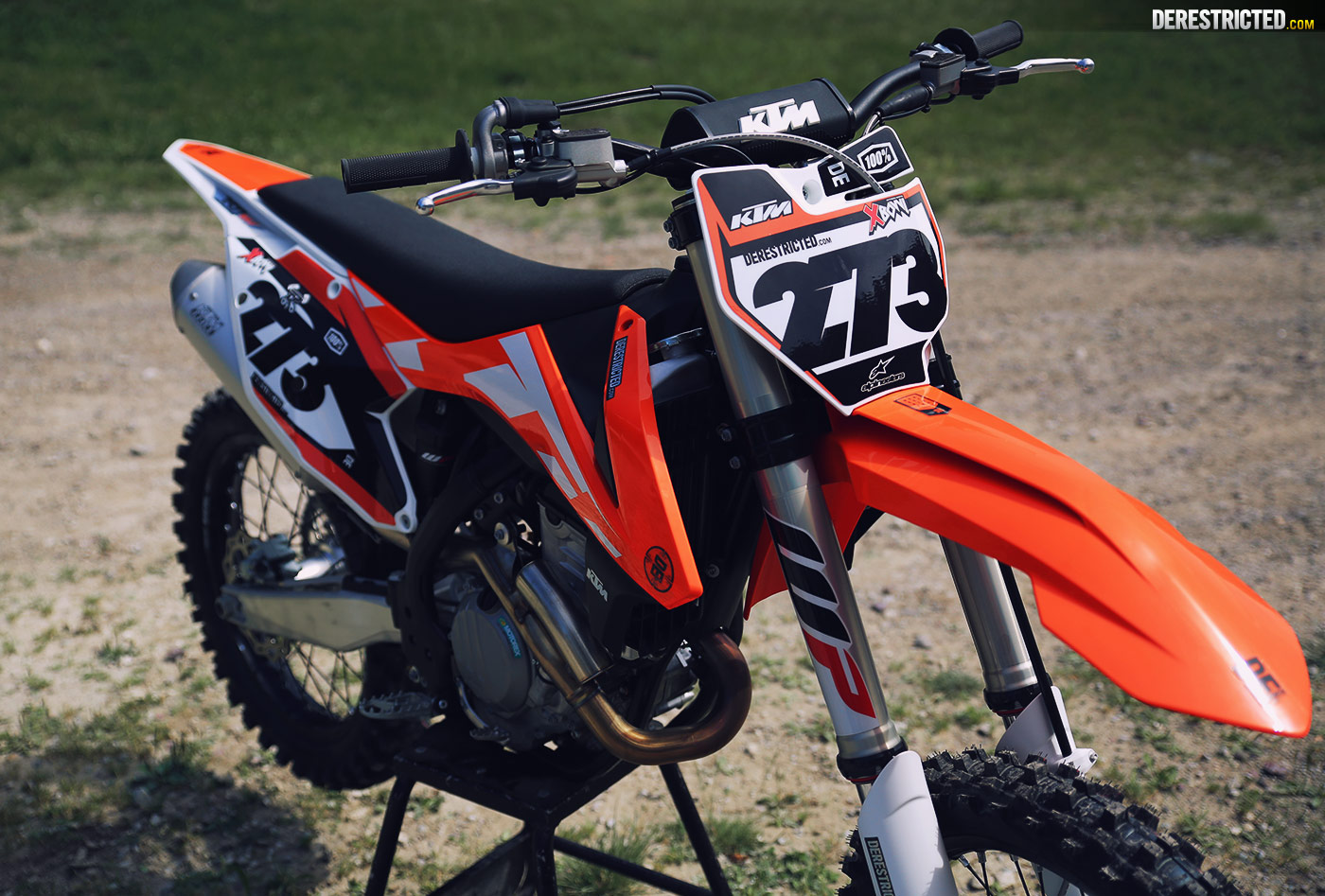 2016 ktm 350 sx-f | first look and first ride | derestricted