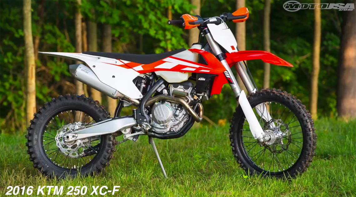 2016 ktm 250 xc f 350 xc f 450 xc f first rides motousa derestricted. Black Bedroom Furniture Sets. Home Design Ideas