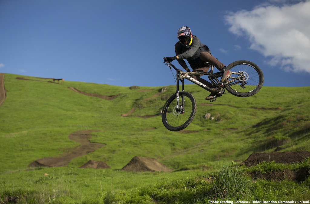 """on set of 'Unreal"""" a mountain bike film by Anthill and TGR"""