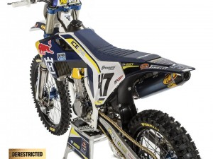Husqvarna FC 450 Factory Race Bike Todd Waters #47