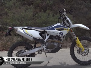 Husqvarna FE 501 S – BEST DUAL-SPORT/ENDURO of 2015