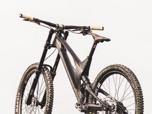 CERO Design Carbon fiber prototype Downhill bike