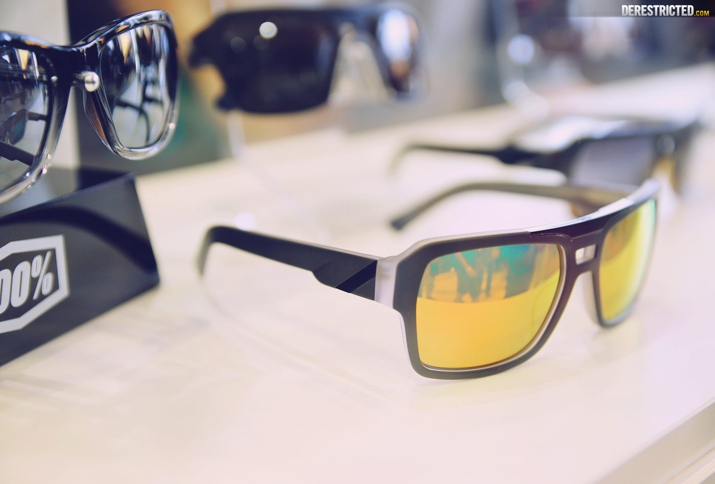 100 Percent Sunglasses  2016 100 gear at eurobike derestricted