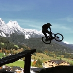 Few little clips I had on the phone from leogang yesterday. @tschugg23 trying his #Haibike #xduro for the first time. More up on the site! #MTB #dh #ride100percent