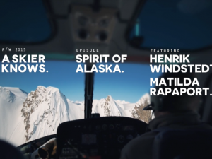 A Skier Knows – Spirit Of Alaska
