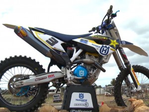 MXTV Bike Test – Mike Brown's Husqvarna