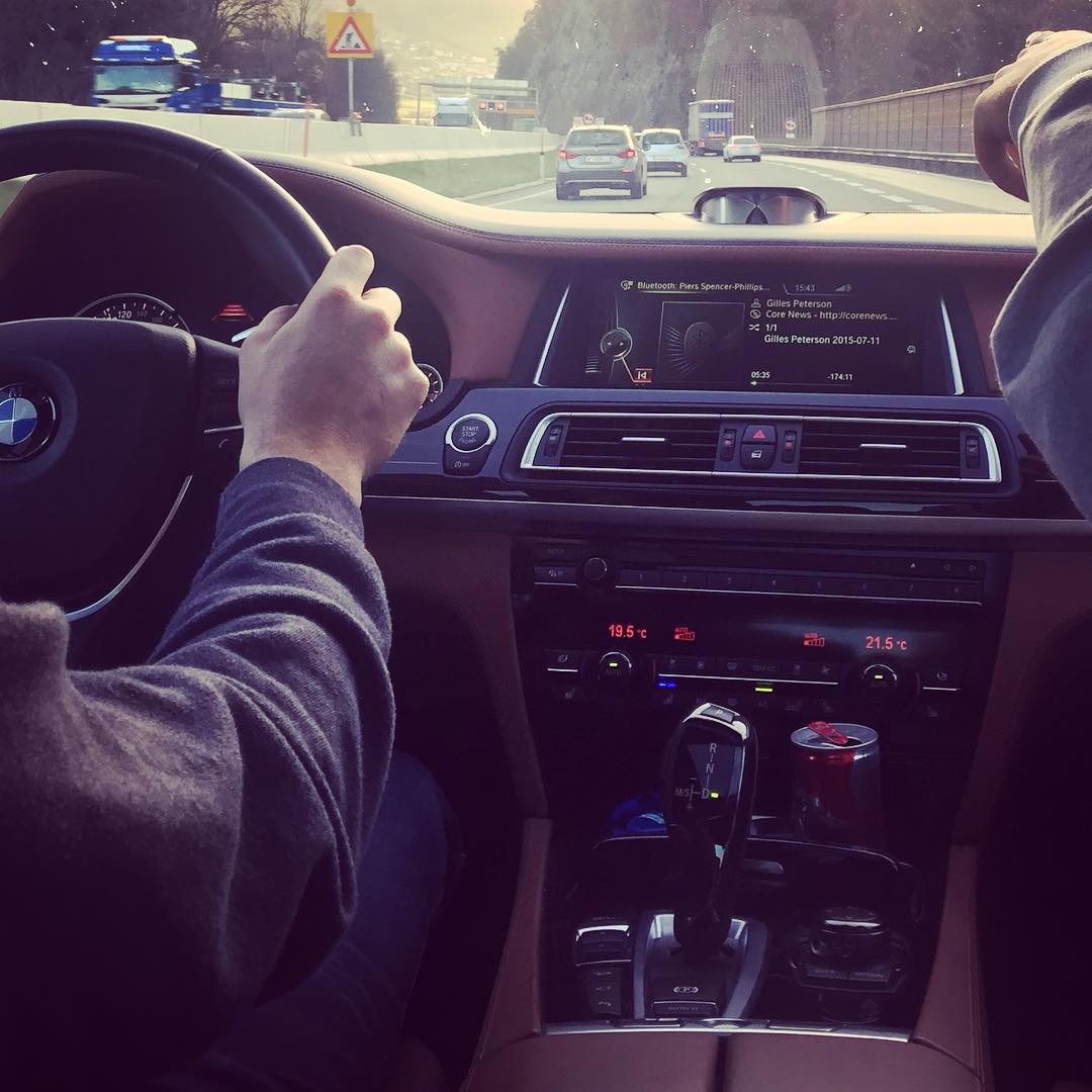 On our way to EICMA #bmw
