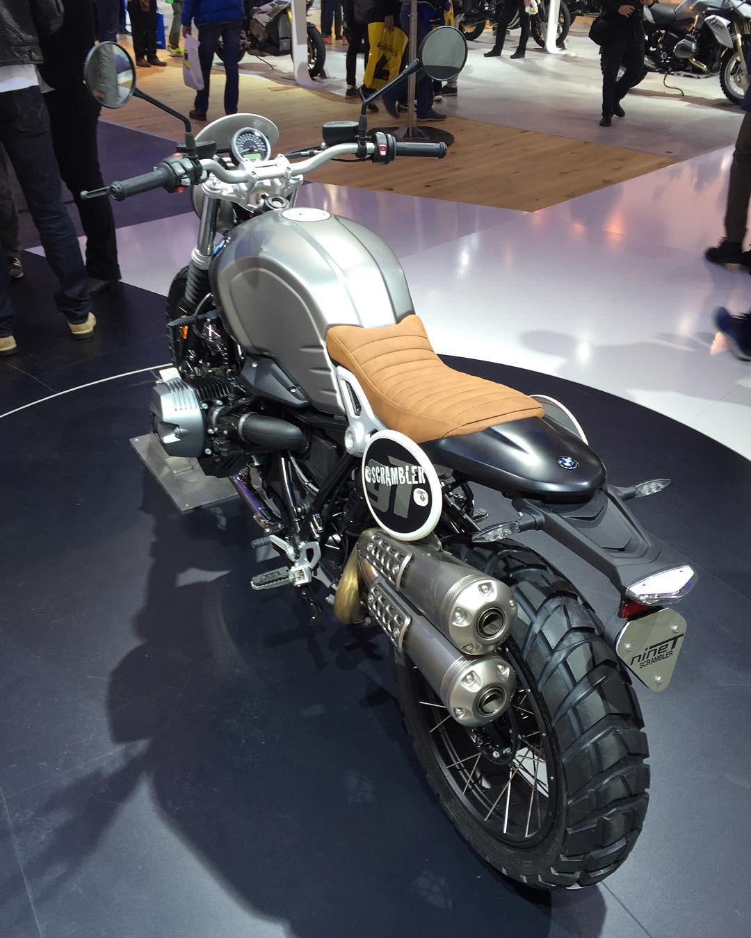 New #BMW #rninet #scrambler is looking good!
