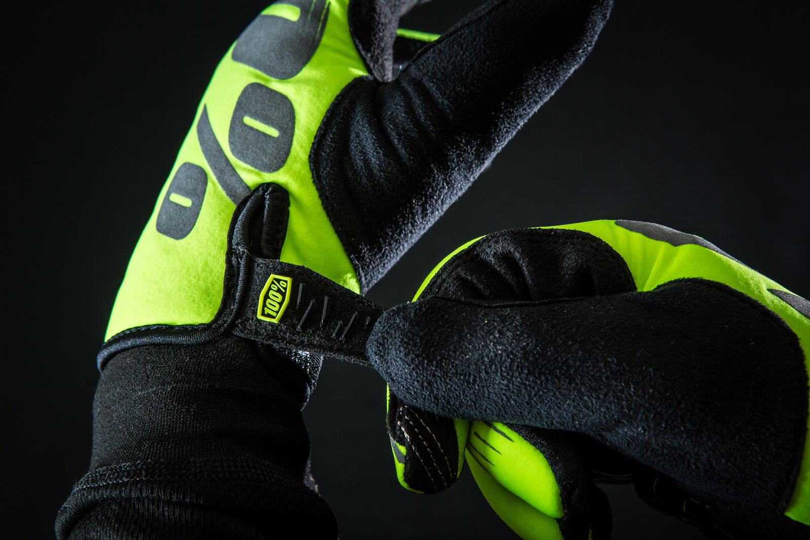 100 Presents The Brisker Glove Now In Neon Yellow