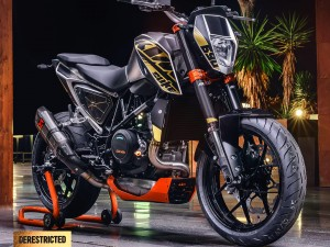 2016 KTM 690 Duke Powerparts