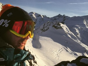 First trip high up the mountains this year. The snow is a little thin but the air is fresh! Feels good to slide. #snow