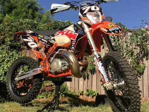2016 #KTM #300exc sent to us by Nik Forsyth #enduro
