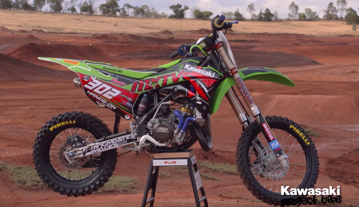 Kawasaki KX85 Project Bike