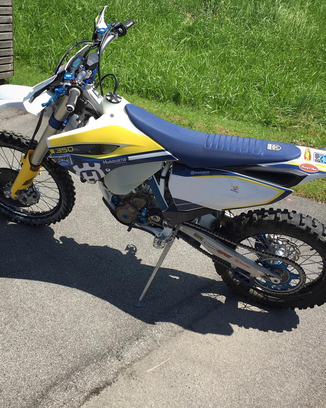 Lot of memories on this bike! #husqvarna #fe350 #enduro #moto #de_portfolio