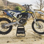 Can't wait to see the video that @dirtbikemag are working on of @fmflild 's #Husqvarna #FC450 with a graphics kit I worked on, but for now here is another photo! 📷Fant #de_portfolio
