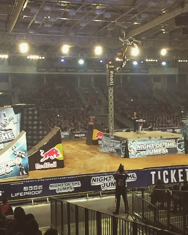 #FMX has come a long way since I last went to a show!!! #moto @nightofthejumps