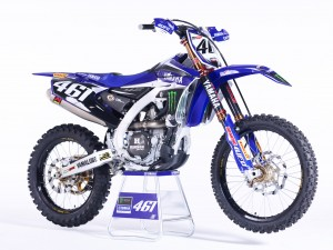 Monster Energy Yamaha Factory MXGP 2016 YZ450FM