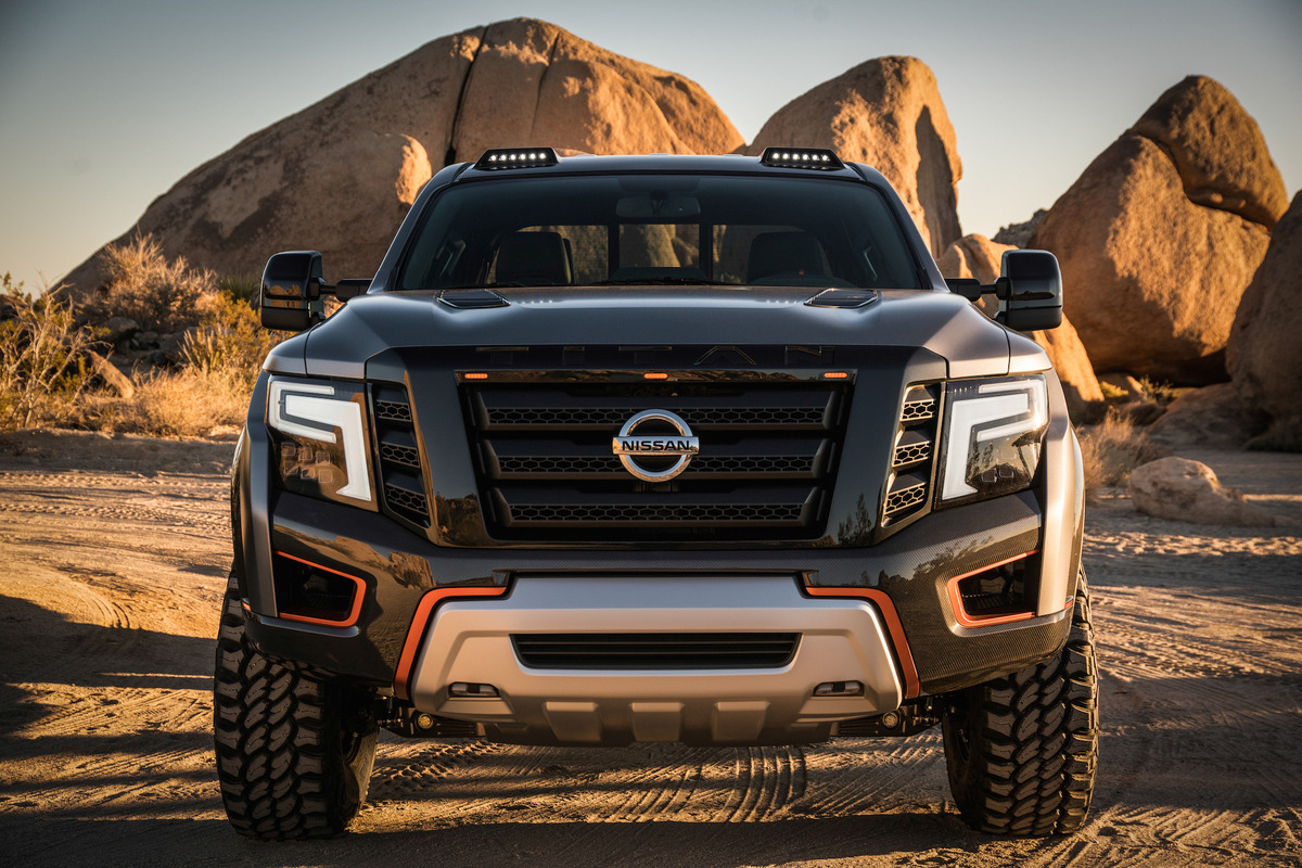 Nissan Titan Warrior Concept Derestricted