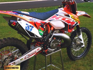 KTM 250 XC + 250 XCW from George MacEachern