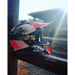 Photo sent to us from our friend @speedyvelocity2000 out in Oz at the #KTM rally. This was another of the #Airoh colorways I designed for the 2016 #powerwear collection. Colors don't like quite as I remember though 😊 #de_portfolio #ride100percent