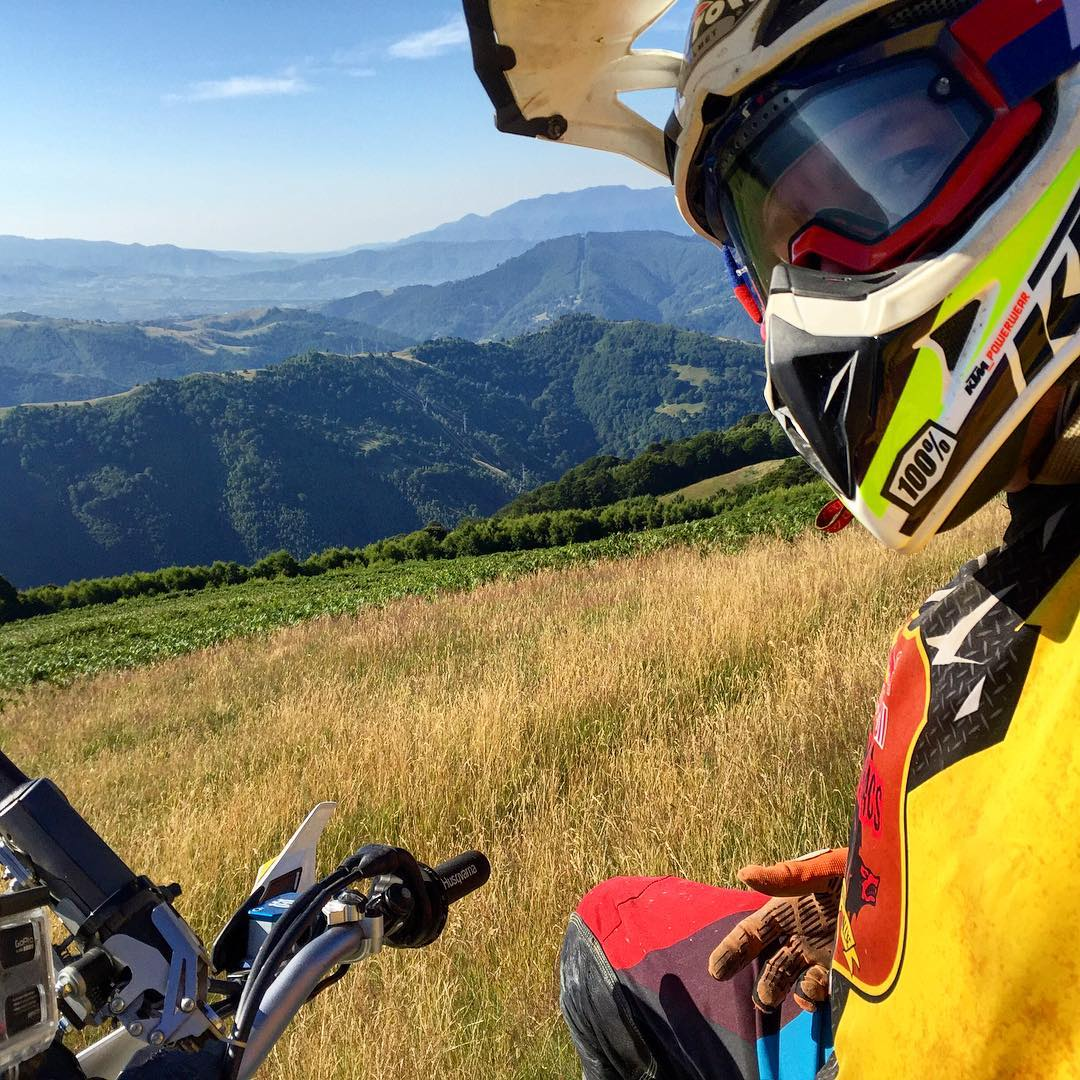 #Throwbackthursday to #Romaniacs! #Husqvarna #ride100percent #blisters #enduro #oneindustries  #gps #paradise