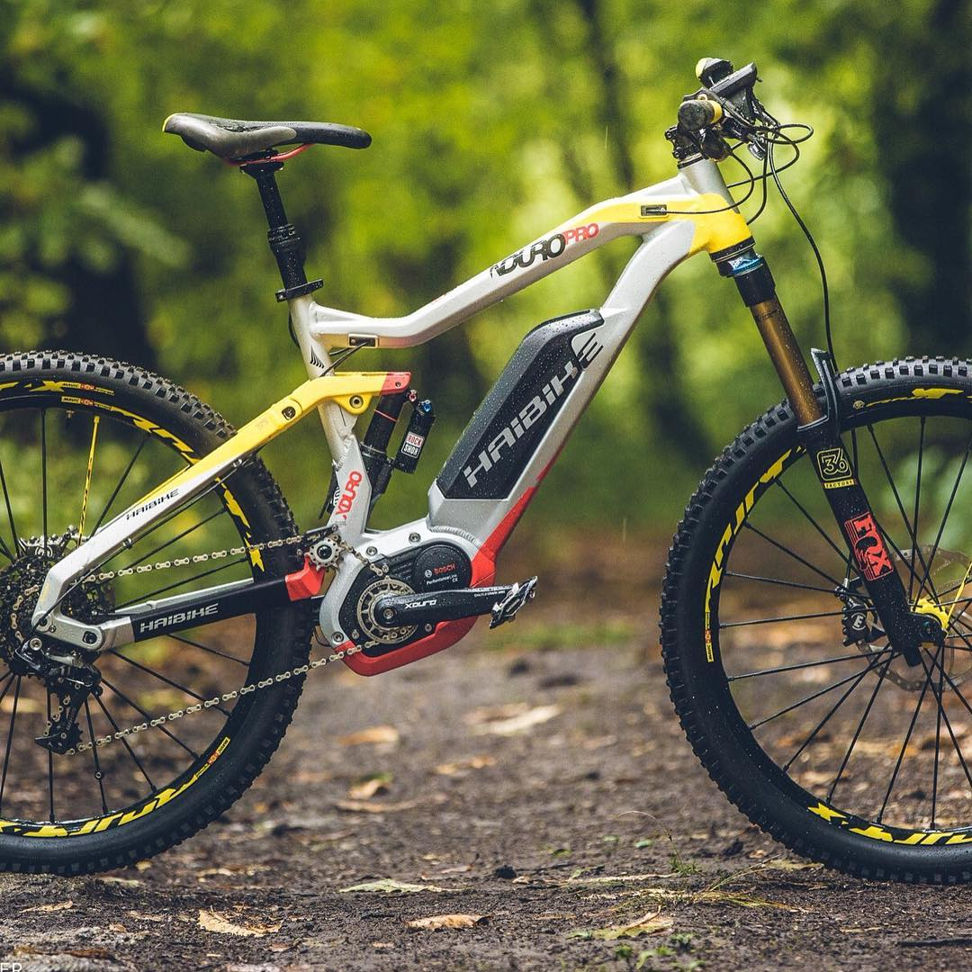 Check out @ebike_mtb 's website for an excellent review of the 2016 Haibike #XDURO #NDURO ! #MTB #eperformance #ebike #emtb #enduro . Great 📷 from @bayercb !