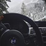 Pretty happy I bought the #f31 with #xdrive . Saved my ass a few times recently in the mountains! #msport #bmw #snow #mountains