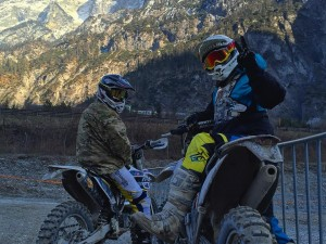 Even after all the years we have been riding @xbowlarena I still trip out over how special that place is! Excellent first ride today with Xandl and @zajcmaster ! #Husqvarna #ktm #enduro #250exc #moto #mountains #ride100percent