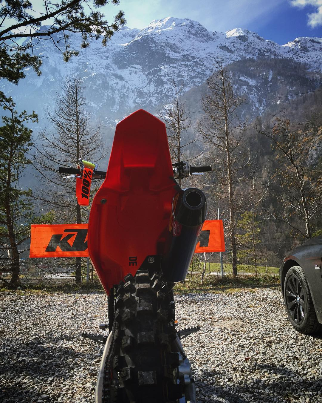 Majestic view @xbowlarena !. #Moto #MX #motocross #ktm #350sxf #fmfpower #bmw #msport #ride100percent