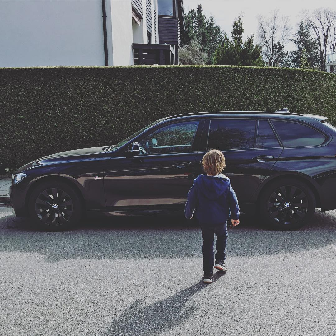 Trip to Munich with the fam and the family wagon. #BMW #xdrive #MSport #f31