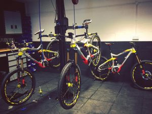 A new batch of #XDURO #NDURO 's freshly assembled at e-bikeshop.co.uk #mtb #haibike #enduro