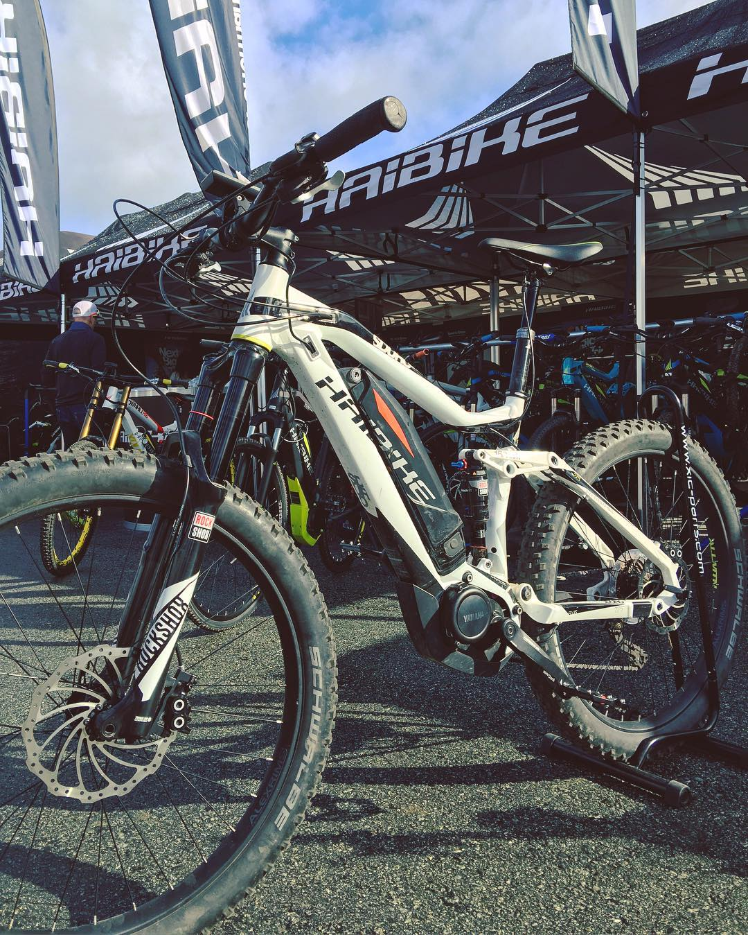 If you are at #seaotterclassic come and visit us at booth number 740, we have lots of great bikes for you to try if you like! #yamaha #bosch #xduro #sduro #emtb #ebike