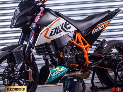KTM Dukes from Dyat Hamid from Singapore