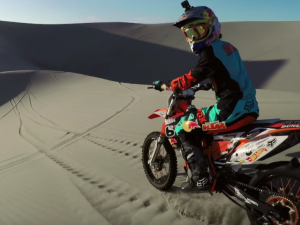 Ronnie Renner Shreds Idaho Dunes