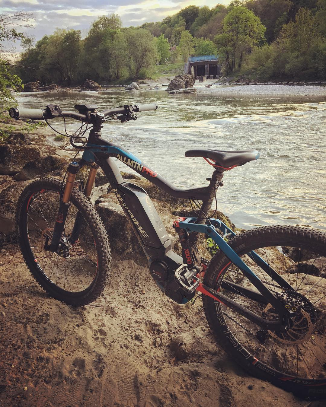 AllMtn and the river. #XDURO #Haibike #eperformance