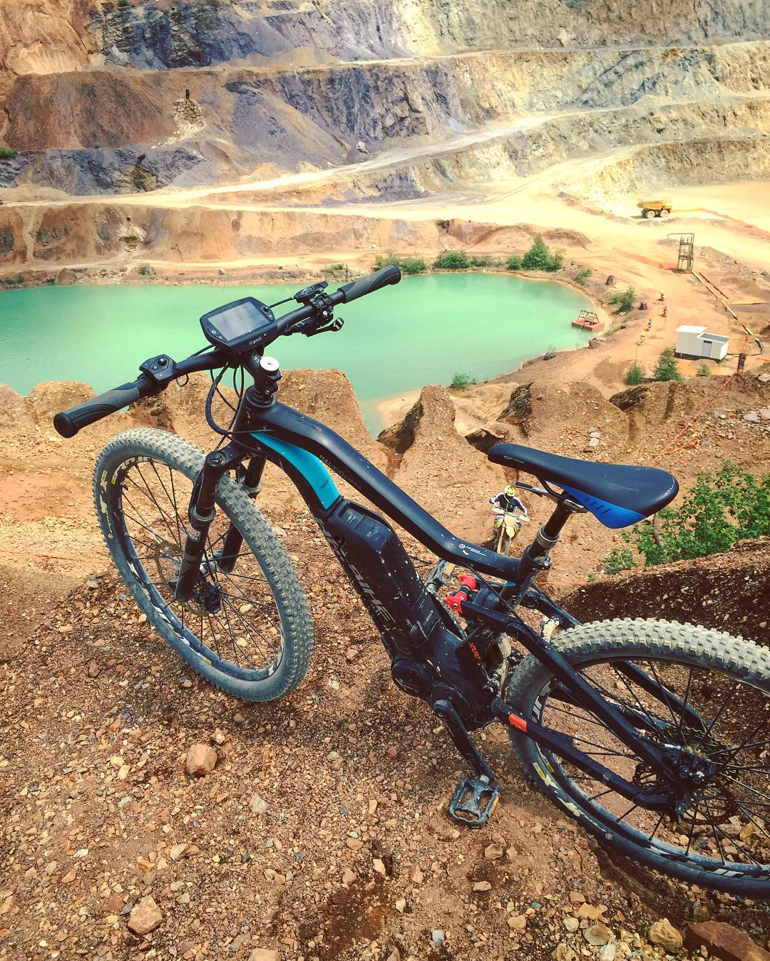 Good times at #Erzbergrodeo with the  #FULLSEVEN Carbon RX! #Haibike #xduro #enduro