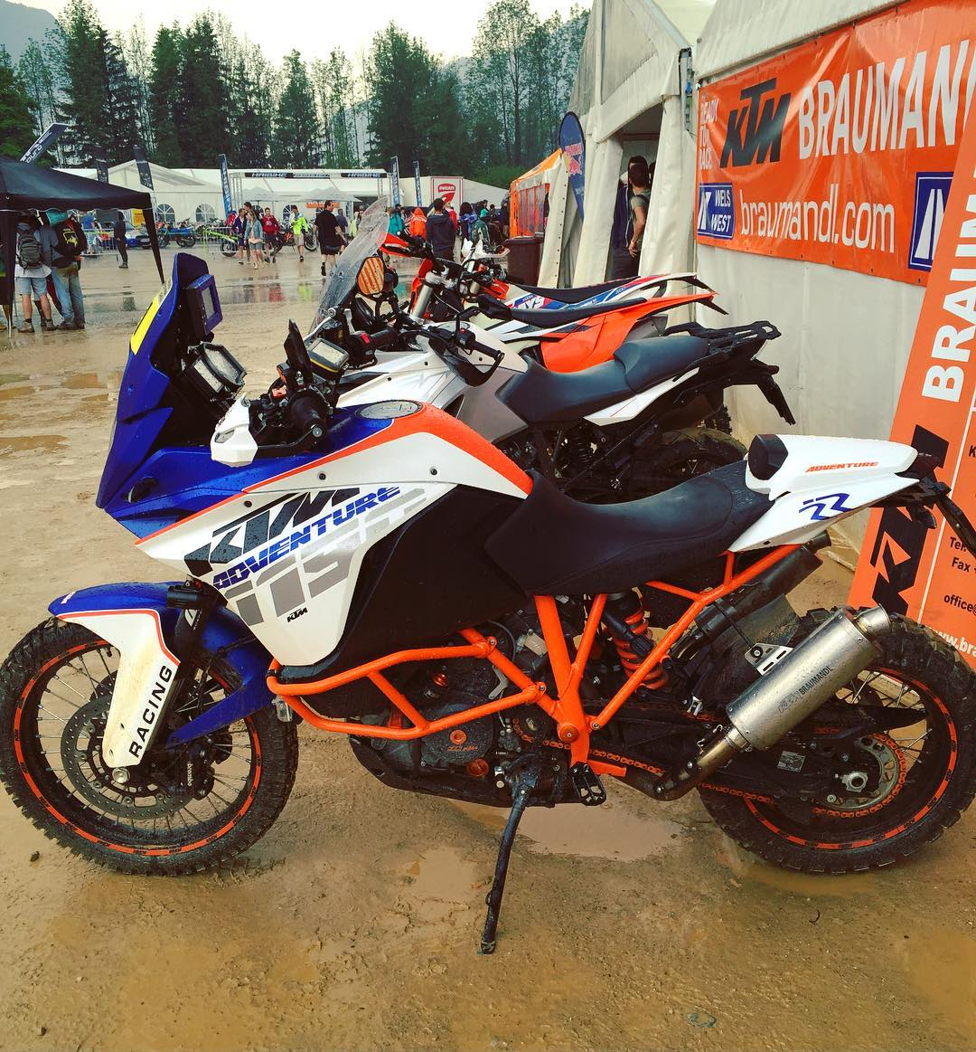 Super cool real life bikenstein from KTM Braumantal! #KTM #adventure #superduke #ktmadventure