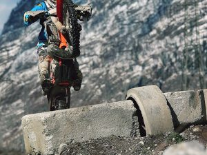 Raise it up! Shot of @zajcmaster from the archives. #KTM #enduro #250exc #ride100percent